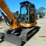 Excavator midi Case CX 80 second hand