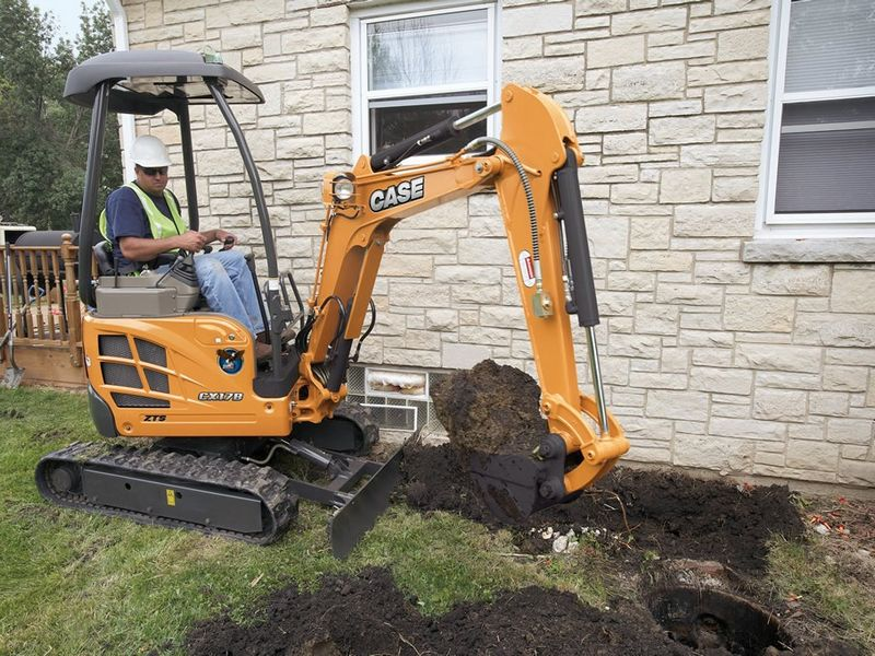 Excavator mini Case CX 17 second hand