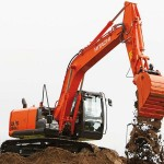 Excavatoare midi Hitachi ZX 160 second hand