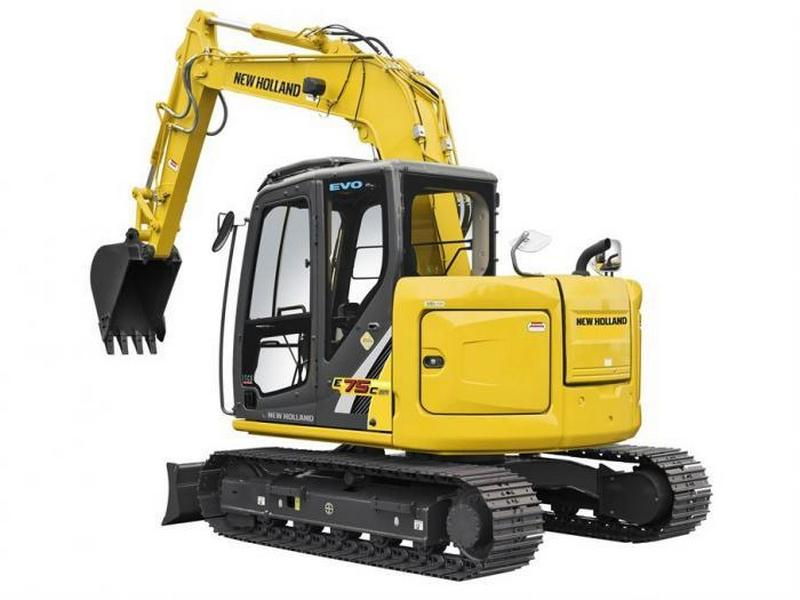 Excavatoare midi New Holland E 75 oferta