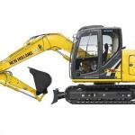 Excavatoare midi New Holland E 75 second hand