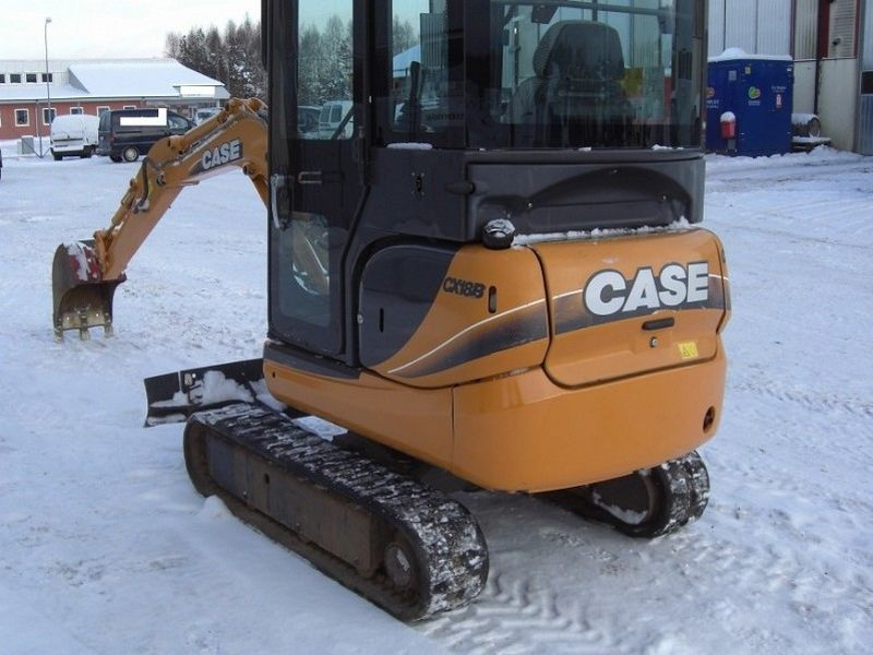 Excavatoare mini Case CX 18 Romania