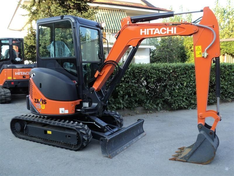 Excavatoare mini Hitachi ZX 29 Romania