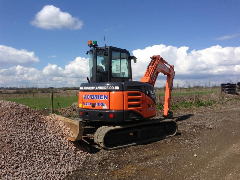 Excavatoare mini Hitachi ZX 60 Romania