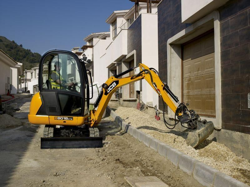 Excavatoare mini JCB 8018 dealer