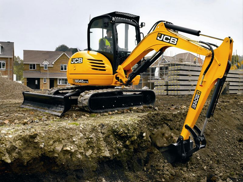 Excavatoare mini JCB 8045 dealer