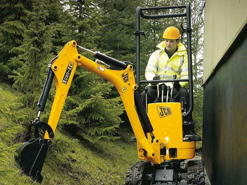 Excavatoare mini JCB Micro second hand