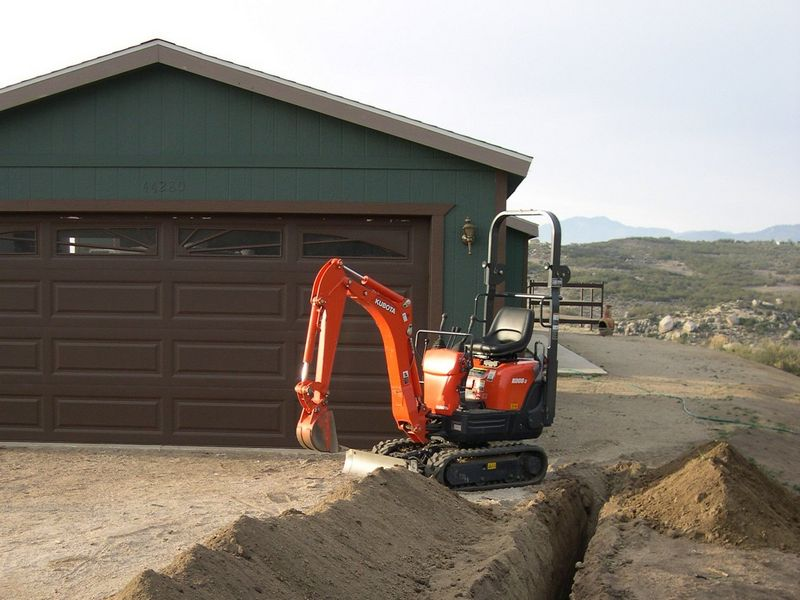Excavatoare mini Kubota K 008 dealer