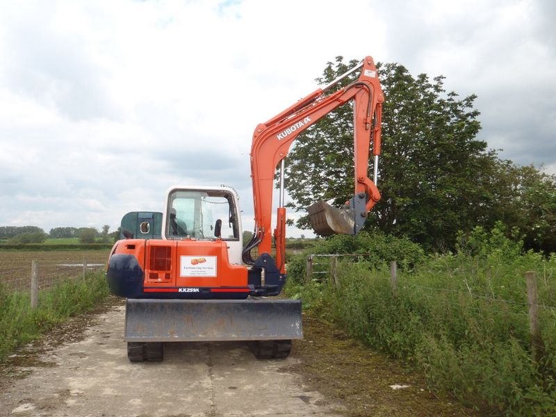 Excavatoare mini Kubota KX 251 dealer