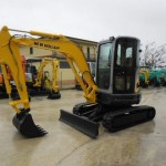 Excavatoare mini New Holland E 35 Romania