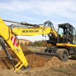 Excavatoare pe roti New Holland WE 170 de vanzare