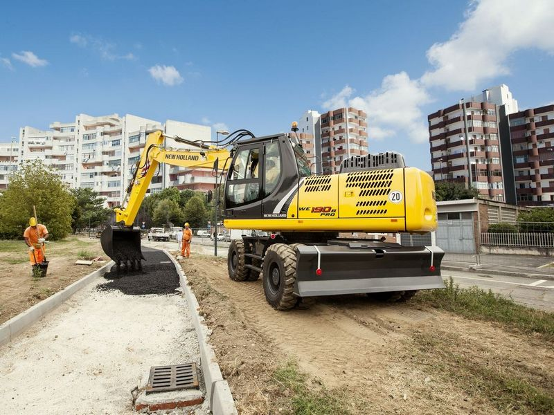 Excavatoare pe roti New Holland WE 190 dealer