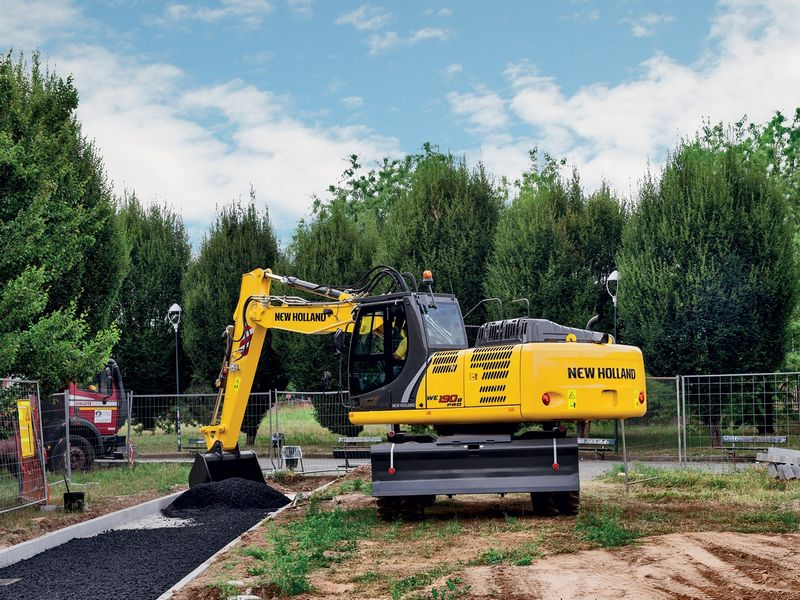 Excavatoare pe roti New Holland WE 190 oferta