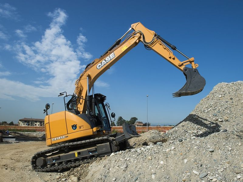 Excavatoare pe senile Case CX 145 dealer