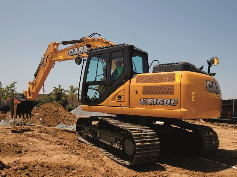 Excavatoare pe senile Case CX 160 dealer