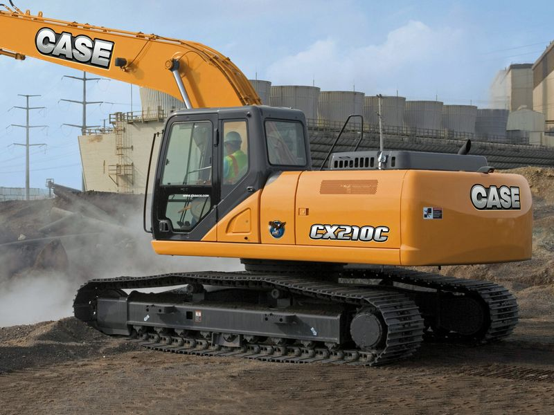 Excavatoare pe senile Case CX 210 second hand