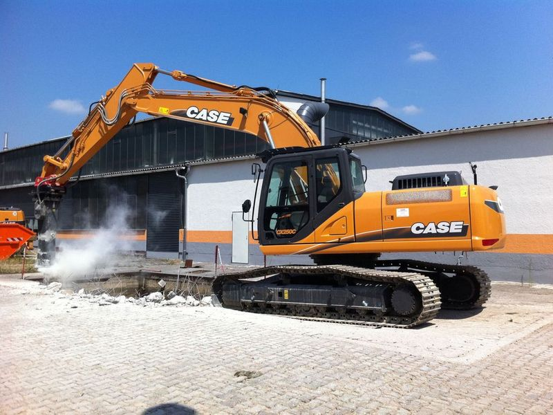 Excavatoare pe senile Case CX 250 dealer