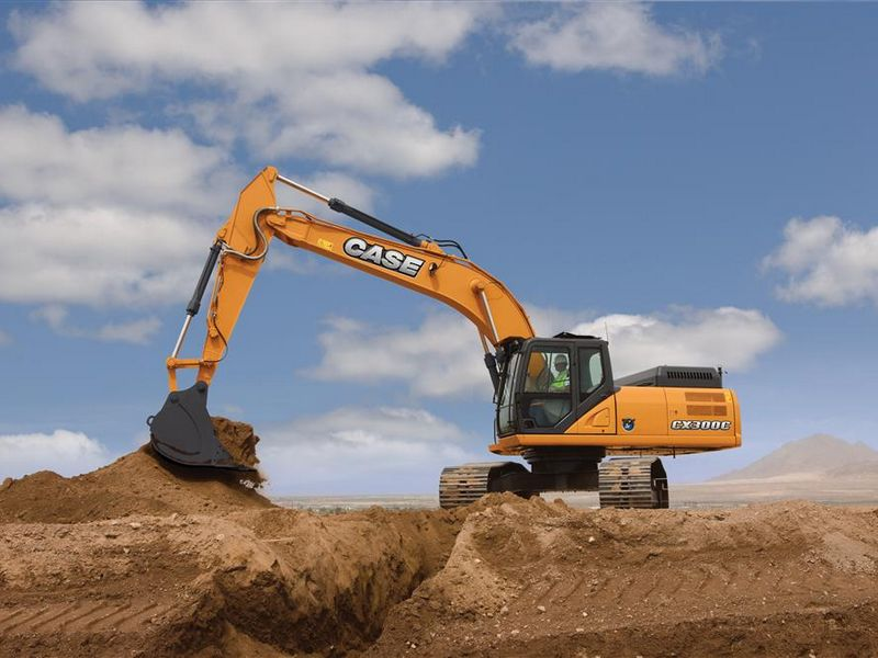 Excavatoare pe senile Case CX 300 dealer