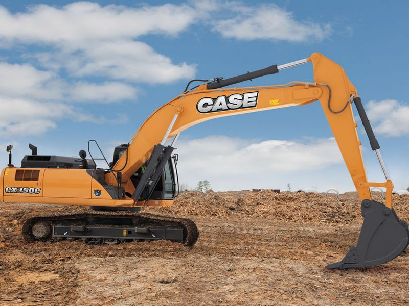 Excavatoare pe senile Case CX 350 dealer