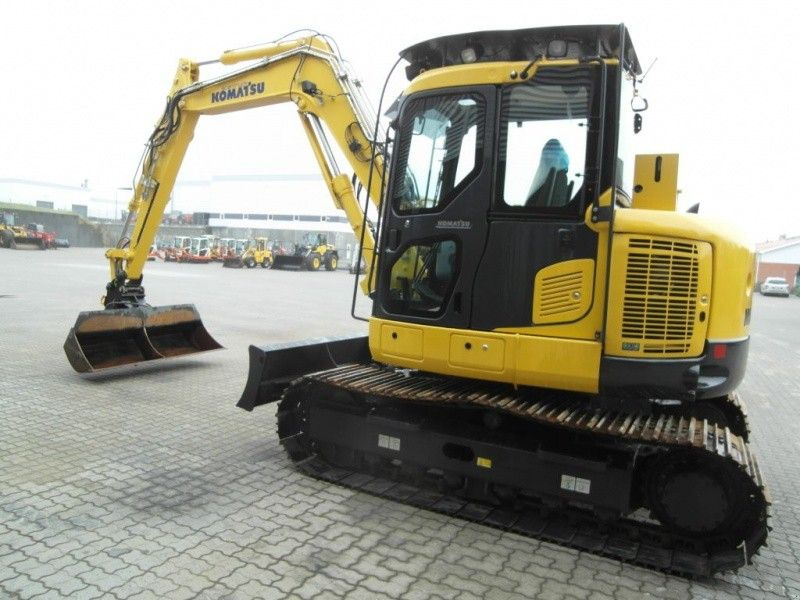 Excavatoare pe senile Komatsu PC118MR second hand