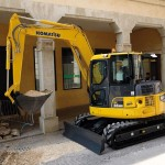 Excavatoare pe senile Komatsu PC88MR second hand
