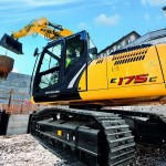 Excavatoare pe senile New Holland E 175 Romania