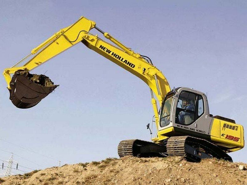Excavatoare pe senile New Holland E 195 dealer