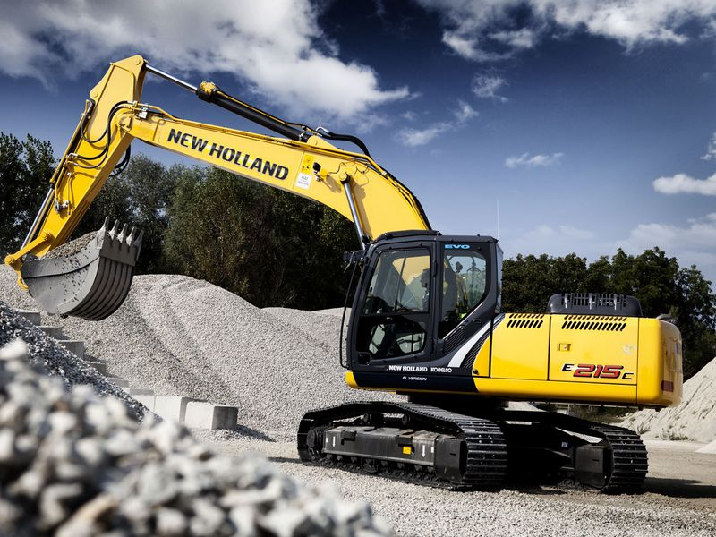 Excavatoare pe senile New Holland E 215 dealer