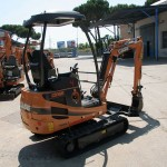 Excavator mini Case CX 18 second hand