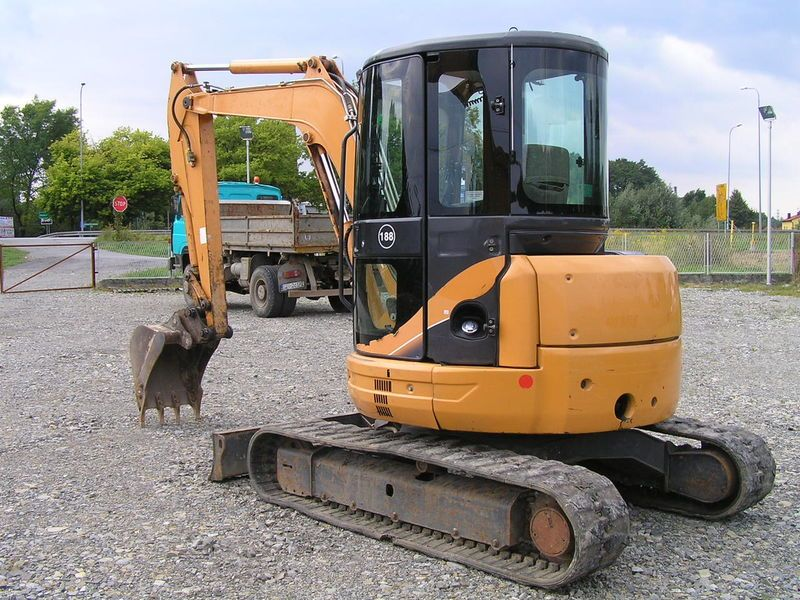 Excavator mini Case CX 50 de vanzare