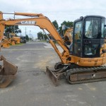 Excavator mini Case CX 50 second hand