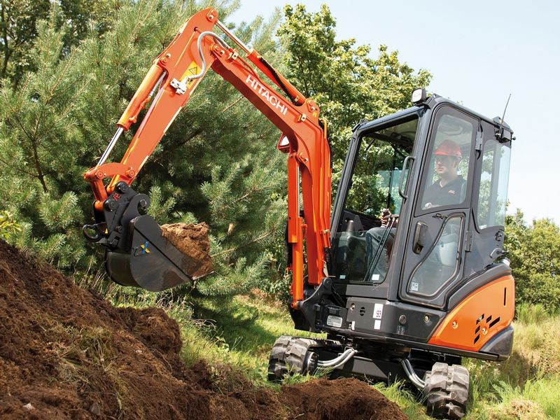 Excavator mini Hitachi ZX 18 second hand