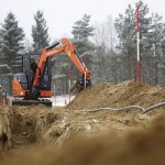 Excavator mini Hitachi ZX 33 de inchiriat
