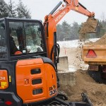 Excavator mini Hitachi ZX 33 second hand