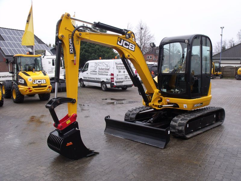 Excavator mini JCB 8040 dealer