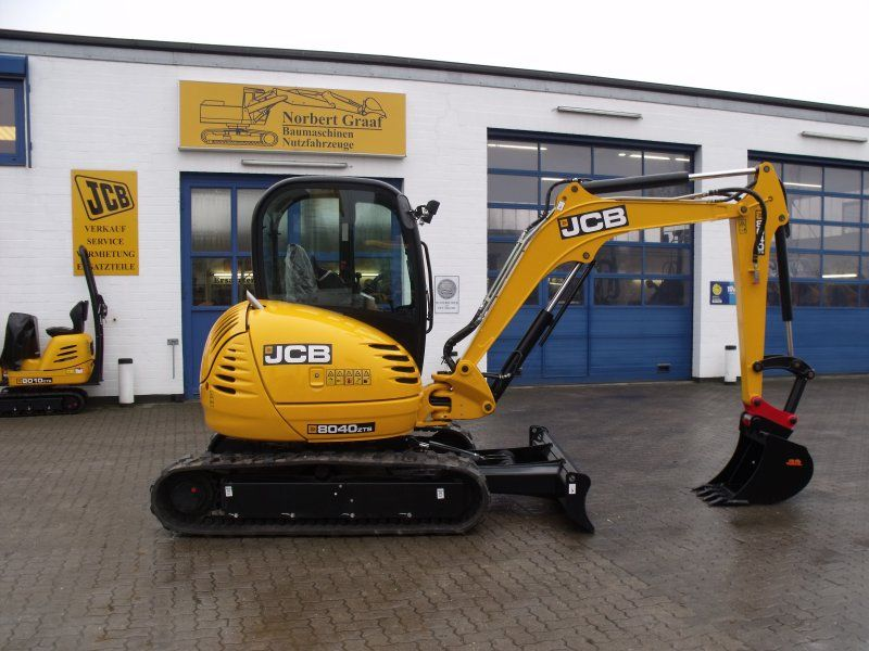 Excavator mini JCB 8040 second hand