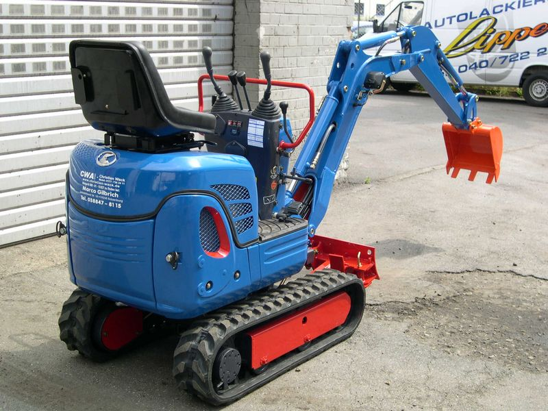 Excavator mini Kubota K 008 second hand