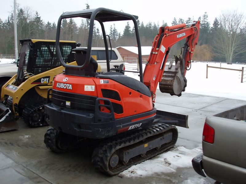 Excavator mini Kubota KX 071 second hand