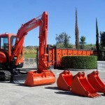 Excavator mini Kubota KX 121 second hand