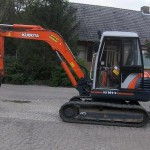 Excavator mini Kubota KX 161 second hand
