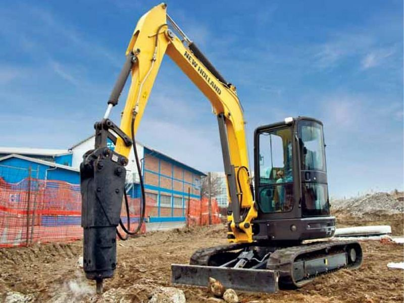 Excavator mini New Holland E 26 de vanzare