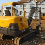 Excavator mini Volvo EC 35 second hand