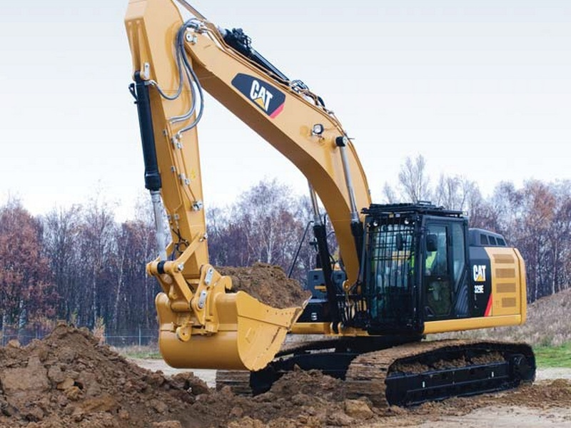 Excavator pe Senile Caterpillar 329 second hand