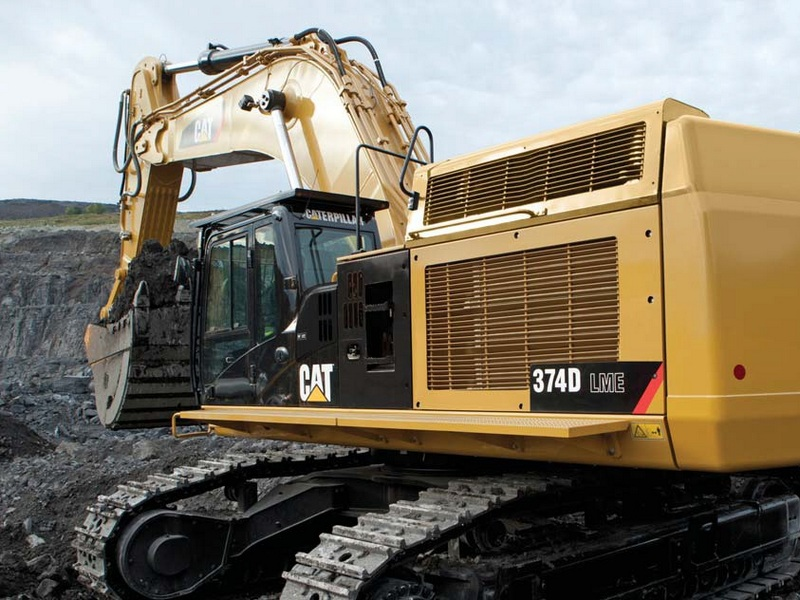 Excavator pe Senile Caterpillar 374 second hand