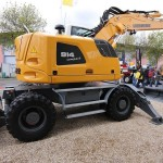 Excavator pe roti Liebherr A 914 Compact second hand