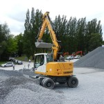 Excavator pe roti Liebherr A 918 Compact second hand