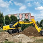 Excavator pe roti New Holland WE 190 de vanzare