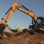 Excavator pe senile Case CX 130 second hand