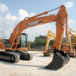 Excavator pe senile Case CX 230 second hand