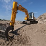 Excavator pe senile New Holland E 175 de inchiriat